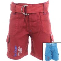 8x Bermudas with Lee Cooper Belt from 6 to 24 months