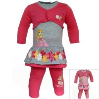 26x 2-piece sets Princess from 3 to 24 months