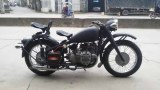 Two wheels Changjiang 750cc motorcycle sidecar withgrey color