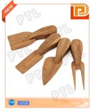 Bamboo cheese utility(4 pieces)
