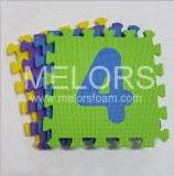 Melors Eco-Friendly Anti-Slip Eva Number Puzzle Floor Mats