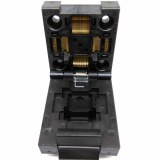 QFP64 TQFP64 LQFP64 Clamshell Structure Burn in Socket Pin Pitch 0.5mm FPQ-64-0.5-06...