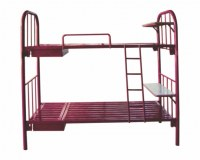 Metal bunk Bed with desks for Dormitory