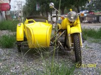 Hornet Motorcycle Sidecar 750CC 32HP