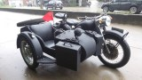 Customized high configure 750cc motorcycle sidecar