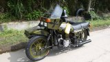 Xiangjiang 750CC motorcycle sidecar with Camouflage color