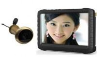5.8G Wireless Door Peephole Camera with DVR TE850HL :www.ttbvs.com