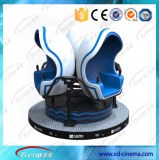 China supplier the amusement park equipment 3 seats with the video games cinema 9D VR