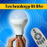 The wireless remote control LED lamps