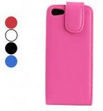 Grossiste,fournisseur chinois : Simple étui en cuir PU pour iPhone Conception 5