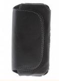 Litchi Grain Leather Case PU avec clip ceinture pour iPhone 5