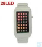 Grossiste, fournisseur et fabricant lw19/montre led avec bracelet en acier argente