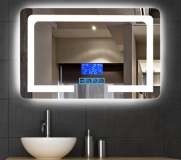 Wall Mounted Bathroom Led Lighted Mirror