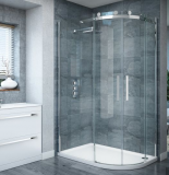 Round/Curved/Circle Sliding Tempered Glass Shower Door