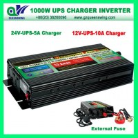 UPS 1000W DC to AC Power Inverter with Charger (QW-1000MUPSCV)