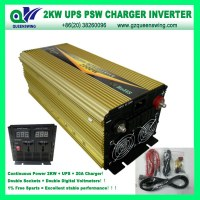 UPS 2000W Pure Sine Wave Inverter with Charger (QW-P2000UPS)