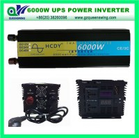 6000W UPS Charger Inverter Pure Sine Wave Inverter (QW-P6000UPS)