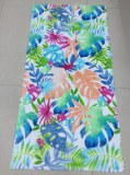 Reactive printing 3060inch 350gsm 100% cotton velour beach towel