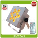 Wireless DMX Battery Powered RGBWA LED Par with IR Remote control