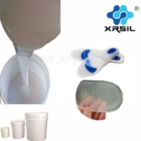 Insoles RTV liquid silicone rubber for finished shoe soles making
