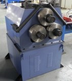Automatic Pipe Rolling Bending Machine With Push Bend For Big Radius, Roll Bending Mach...