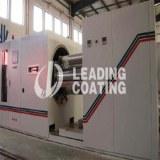 Rolling vacuum coating machine