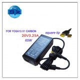 65W AC Adapter for Lenovo IdeaPad Yoga 13 x1 Carbon Ultrabook Charger 20V 3.25A