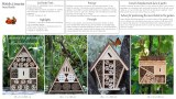 Natural insect hotels