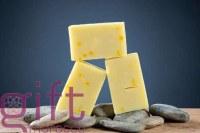 Hard saffron soap at wholesale