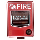 Fire call station manual call point fire alarm