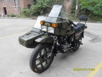 Xiangjiang250cc Sidecar Three-wheeled Motorcycle Police Camouflage Vehicle
