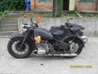Customized 32P changjiang 750CC motorcycle sidecar