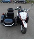 Electric Motorcycle with Sidecar