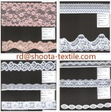 Supply lurex lace and jacquard net fabric mesh