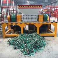 China Metal Shredder Machine Manufacturer Double Shaft Waste Metal Shredding Machine Me...