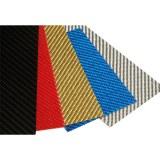 High Strength Prepreg Colored 3K Carbon Fibre Flexible Sheet /Plate 0.3mm 0.5mm 1mm
