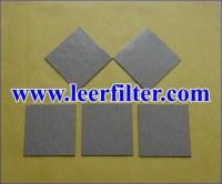 Sintered Powder Filter Sheet