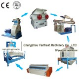 Turnkey Plant Animal Feed Pellet Machine Production Line