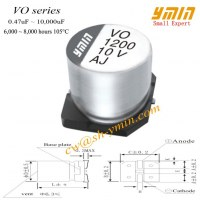 LED Driver Capacitor SMD Electrolytic Capacitor for SMT