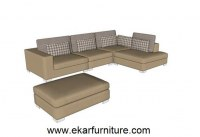 Wood and fabric sofa set quality fabric sofa YX287
