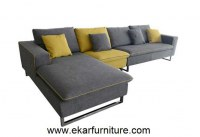 Modern sofa grey and yellow sofa set sectional sofa YX289