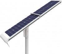 12V DC 4000lm LED solar street lights, auto cleaning solar powered street lights