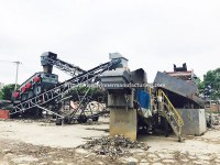 Urban solid waste recycling plant, city waste sorting system