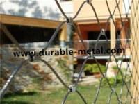 Flexible Stainless Steel Ferrule Rope Mesh
