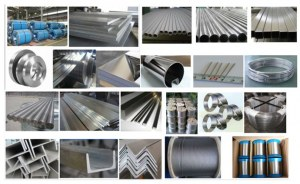 304/316 stainless steel products (sheet pipe rod and wire)