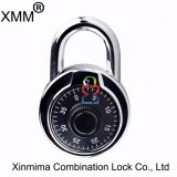 Standard combination padlock with hardened steel shackle xmm-8056