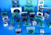 Standard series hydraulic pipe clamps to German standard DIN 3015-1