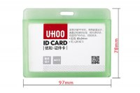 SU-6613 Hard plastic card holder