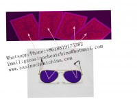 Newest UV perspective sunglasses for gambling cheat/marked cards/contact lenses/game ch...