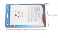 SW-424 Hard plastic card holder